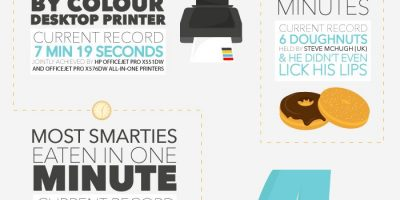 12 World Records You Can Break Today {Infographic}