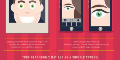 How to Take Better Selfies {Infographic}