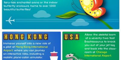 World's Most Unusual Airports {Infographic}