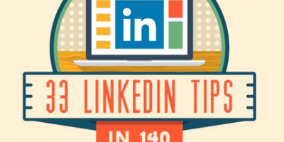 33 LinkedIn Tips in 140 Characters {Infographic}
