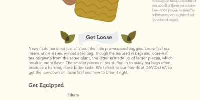 Brew The Perfect Cup of Tea {Infographic}