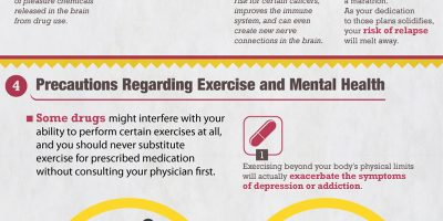 Healthy Habits & Addiction Recovery {Infographic}