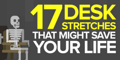 17 Desk Stretches That You Should Try {Infographic}