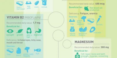The Science of Vitamins {Infographic}