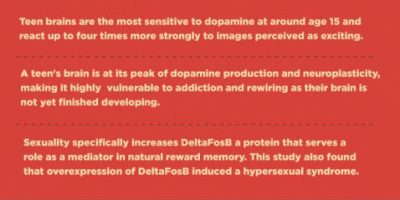 How Pornography Addiction Affects the Teenage Brain [Infographic]