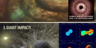 Origin of the Moon {Infographic}