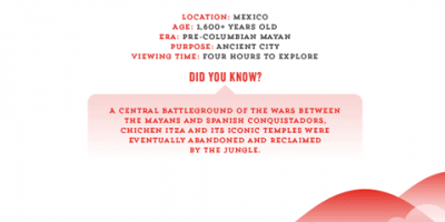Closer Look at 7 Wonders Of The World {Infographic}