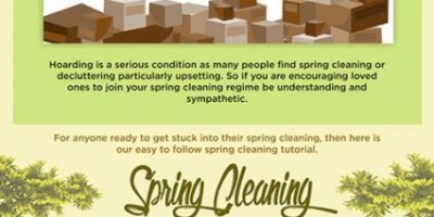 Spring Cleaning Guide: Declutter Your Home {Infographic}
