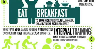 10 Ways To Boost Your Metabolism {Infographic}