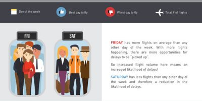 How to Avoid Flight Delays {Infographic}