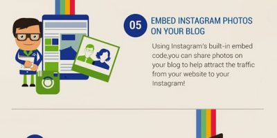 Instagram Tips For Businesses {Infographic}