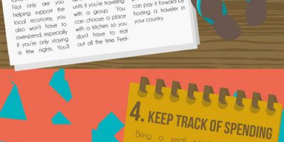 How to Stretch Your Travel Budget {Infographic}