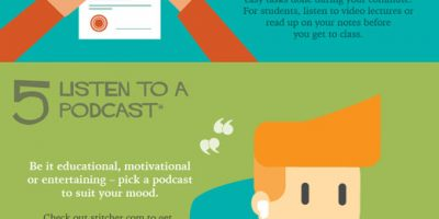 Productivity During Your Daily Commute {Infographic}