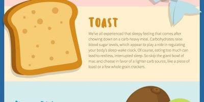 Healthy Foods That Promote Sleep {Infographic}