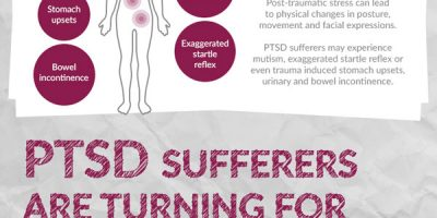 Understanding the Reality of PTSD {Infographic}