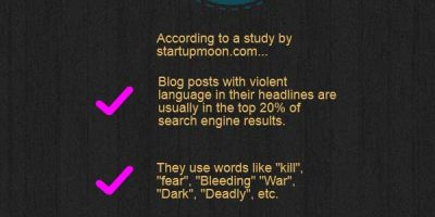 Components Of A Killer Headline {Infographic}