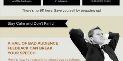 How to Survive Presentation Disasters {Infographic}