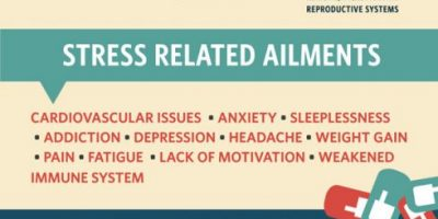 How Meditation Reduces Stress {Infographic}