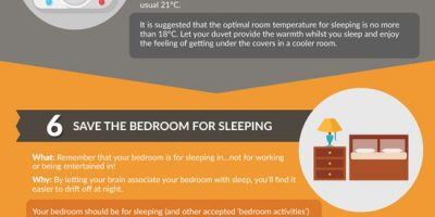 Sleep Hacks for Entrepreneurs {Infographic}