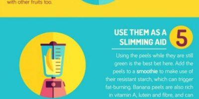 Unusual Ways To Use Banana Peels {Infographic}