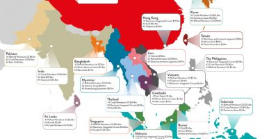 Asia's Top Imports {Infographic}