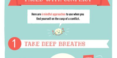 How to Calm Your Brain During Conflict {Infographic}
