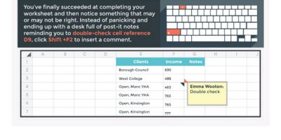 Time-saving Shortcuts for Excel