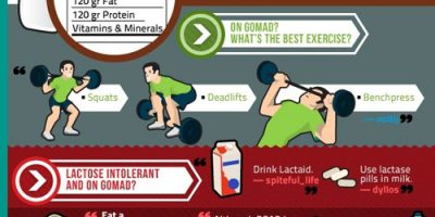 Reddit's Guide to Fitness {Infographic}