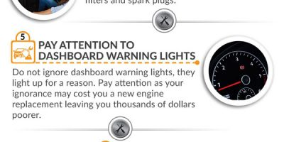 10 Tips To Avoid Expensive Auto Repairs {Infographic}