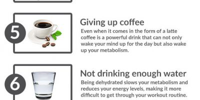 10 Causes of Slow Metabolism {Infographic}