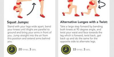 15 Exercises to Get the Best Butt {Infographic}