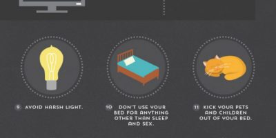 21 Tips for a Better Night's Sleep {Infographic}