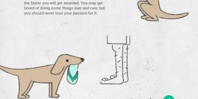 8 Tips from Your Dog On Starting a Career {Infographic}