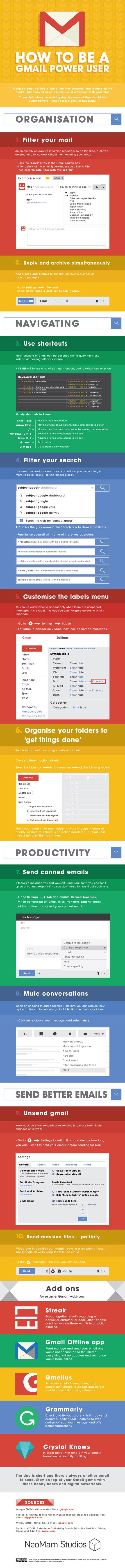 Gmail-Power-User