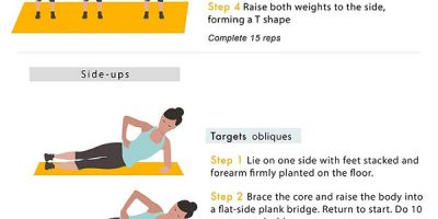Simple Exercises & Tips for Busy People {Infographic}