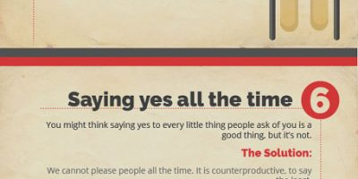 10 Bad Habits That Kill Your Productivity {Infographic}