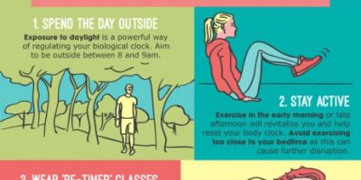9 Natural Ways to Cure Jet Lag {Infographic}