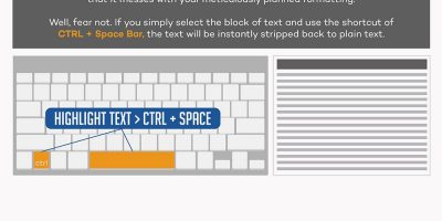 8 Must Know Microsoft Word Hacks {Infographic}