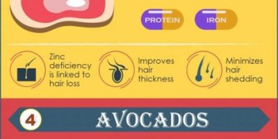 7 Foods That Grow Your Hair Faster {Infographic}