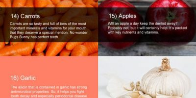 30 Foods for Healthy Teeth {Infographic}