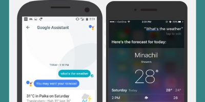 Siri vs. Google Assistant [Infographic]