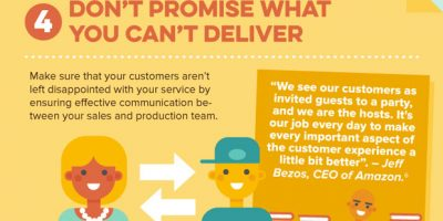 9 Ways To Make Your Customers Happy [Infographic]