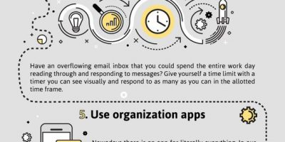 10 Tips To Improve Productivity [Infographic]