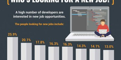 The Life of a Developer [Infographic]