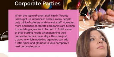 How Modeling Agencies Heat Up Corporate Parties [Infographic]