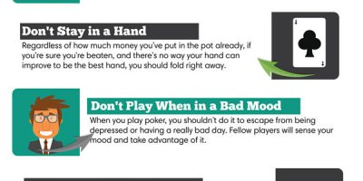 10 Tips to Become a Better Poker Player [Infographic]
