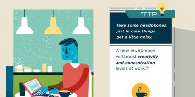How to Stay Productive When You're Tired [Infographic]