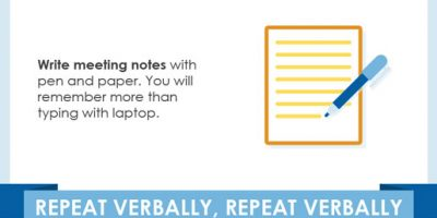 15 Ways To Improve Your Memory [Infographic]