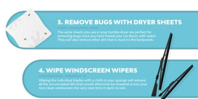 How To Clean Your Car [Infographic]
