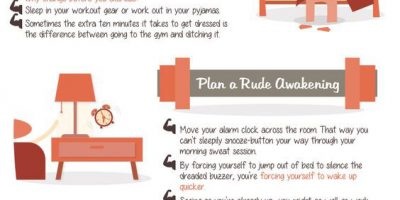 How To Become a Morning Workout Person [Infographic]